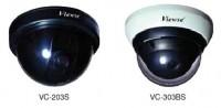 Купольные черно-белые видеокамеры Viewse - [VC-203S и VC-303BS]